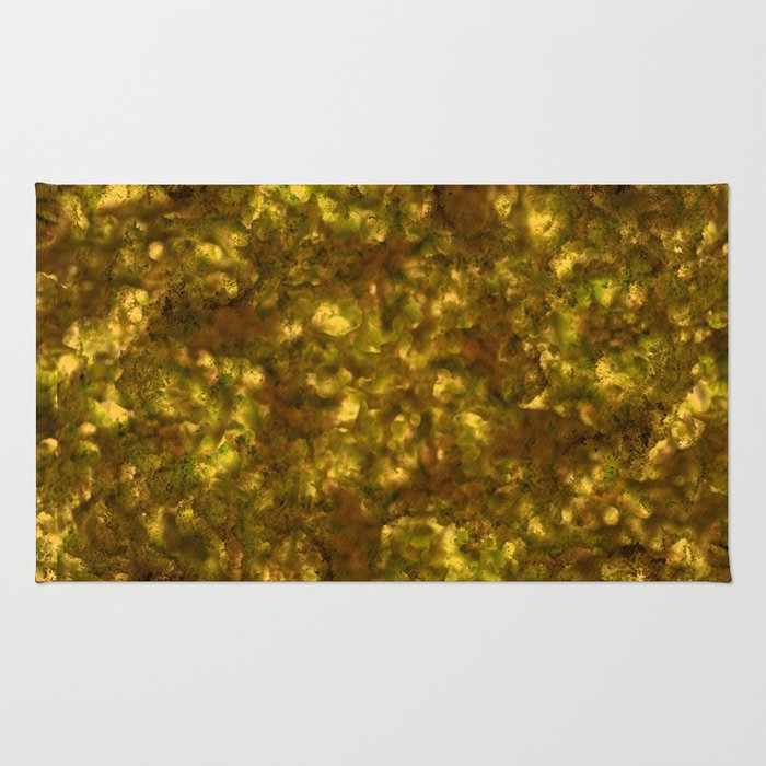 Forest Canopy Saturn Rug