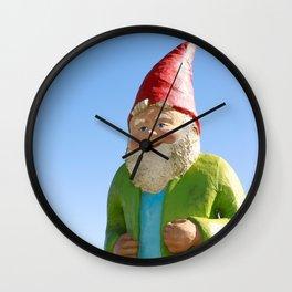 Giant Garden Gnome Wall Clock