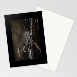 Wind 360 20 kts clear to land Stationery Cards