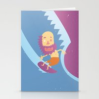 surf Stationery Cards featuring Surf! by DooDoo