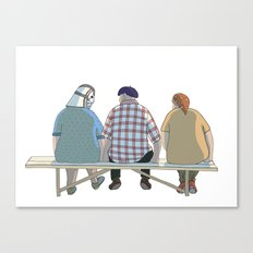 Kind Grandma Canvas Print