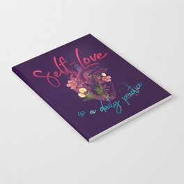 Kelly-Ann Maddox Collection :: Self-Love (Illustrated) Notebook