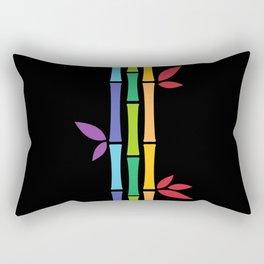 Rainbow Bamboo Rectangular Pillow