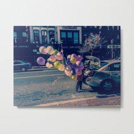 Ballons on U Street Metal Print