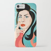 ali gulec iPhone & iPod Cases featuring Ali by AvalonClare