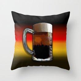 German Sunset Throw Pillow