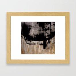 Separate. Framed Art Print