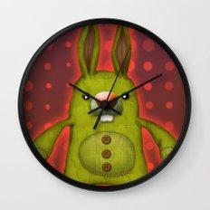 Bunny rag doll  Wall Clock