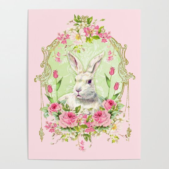 Spring Bunny by wendypaulapatterson