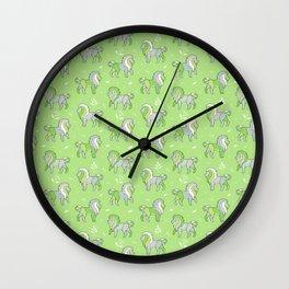 Jungle Lion Wall Clock
