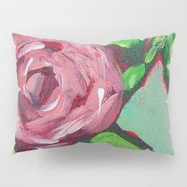 Pink Peony Floral Pillow Sham