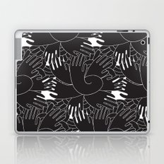 BLACK HANDS Laptop & iPad Skin