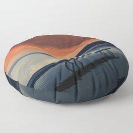 Ogopogo's Lair Floor Pillow