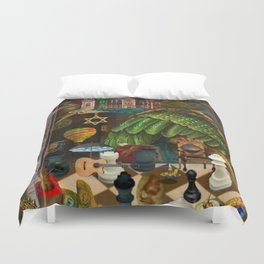 Inquisiton or the One and Only Truth Duvet Cover