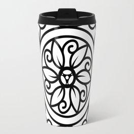 Bike Mandala Flower Travel Mug
