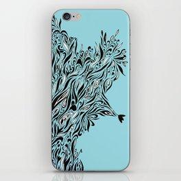 Shrubs in Blue iPhone Skin