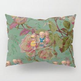 Hooping in The Rose Garden Pillow Sham