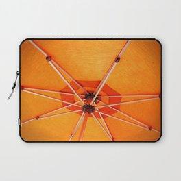 Bight Orange Umbrella Laptop Sleeve