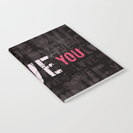 I love you II Notebook