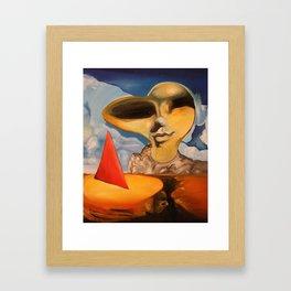 The Sun I Cherish Framed Art Print