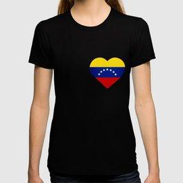 Venezuelan heart - Corazon Venezolano T-shirt