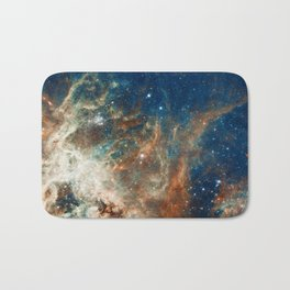 Space Nebula, Star and Space, A View of Galaxy and Outerspace Bath Mat
