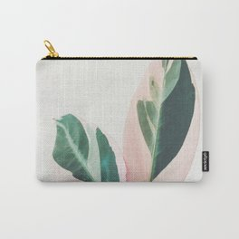 Pink Leaves I Carry-All Pouch