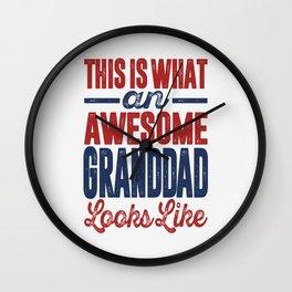Gift for Granddad Wall Clock