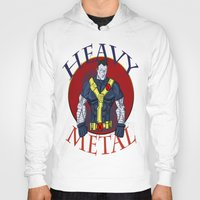 heavy metal Hoodies featuring Heavy Metal by Iron King
