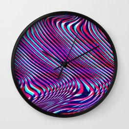 Glitch screen error Digital pixel Wall Clock
