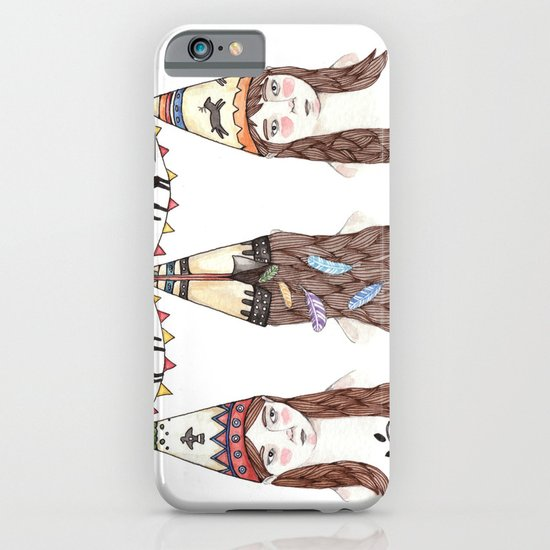 Tipi Party iPhone & iPod Case