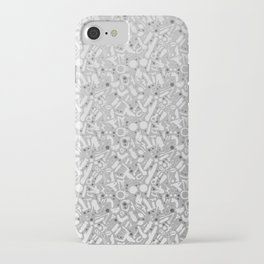 NSFW Kinky S&M Pattern iPhone Case