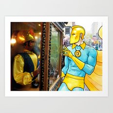 Living in the Material World: DR. FATE Art Print