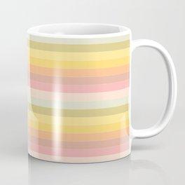 Electric Feel -Orange-Lines Coffee Mug