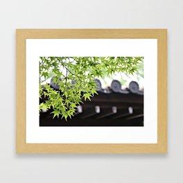 Leaf me to be Framed Art Print