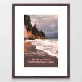 Juan de Fuca Provincial Park Framed Art Print