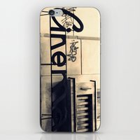 cinema iPhone & iPod Skins featuring Cinema by Ioana Stef