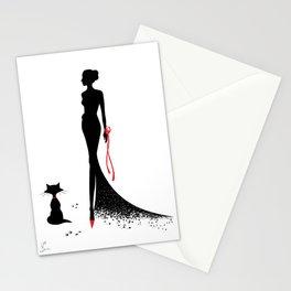 Ladys Stationery Cards