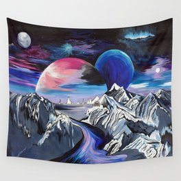 Undiscovered Dusk Wall Tapestry