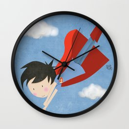 New Out Grow Your Inner Superhero Wall Clock