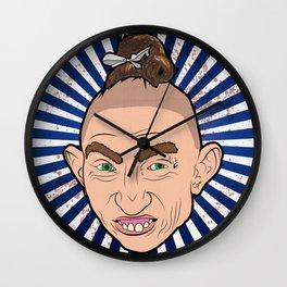 Pepper For President Wall Clock