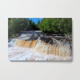 Tahquamenon Lower Falls II Metal Print