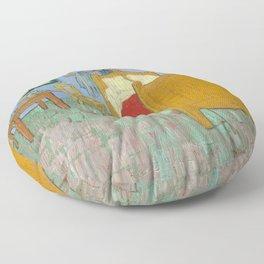 Vincent van Gogh - The Bedroom in Arles Floor Pillow