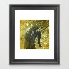Juliet and her Romeo Framed Art Print