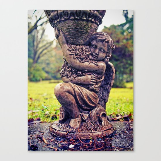 Details in stone Canvas Print