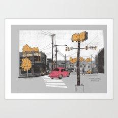 Takoma Park Art Print