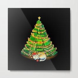 My Favorite Xmas Tree Metal Print