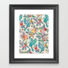 Whimsical Summer Flight Framed Art Print