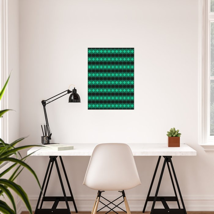Oregon Green Poster