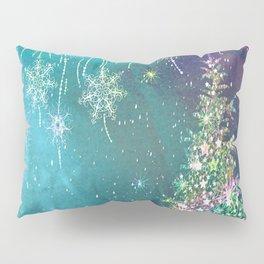 Winter Design QR Pillow Sham